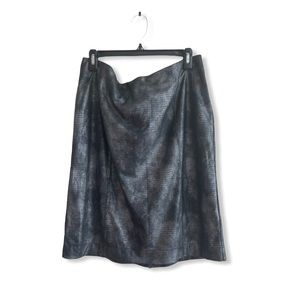 Jockey Grey Metallic skirt